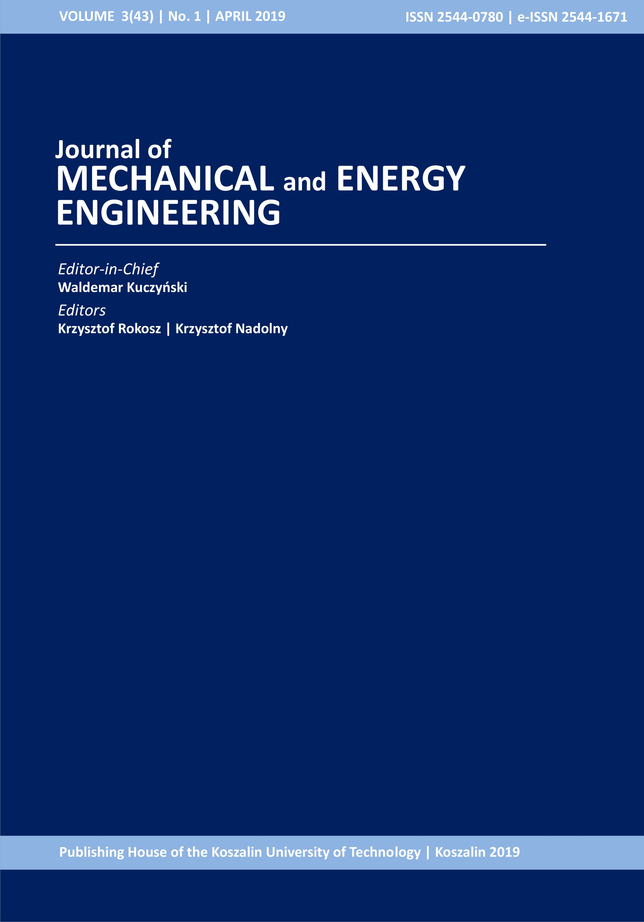 JMME 3(1) 2019 front cover